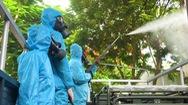 Video: Phun khử trùng dập dịch tại điểm nóng Quảng Nam