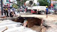 Video: Khắc phục hố 'tử thần' sau mưa lớn tại Gò Vấp