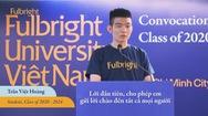 Góc nhìn trưa nay | Đường đến Đại học Fulbright của chàng trai khiếm thị