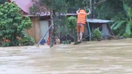 Video: Đi dây qua sông cứu người mắc kẹt ở Quảng Nam
