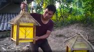 Video: Lên rừng chặt tre làm lồng đèn trung thu, đơn giản mà đẹp