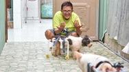Góc nhìn trưa nay | Gặp người phụ nữ làm xe lăn cho chó mèo tàn tật