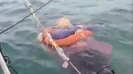 Video: Sau 2 năm mất tích, người phụ nữ được tìm thấy khi đang trôi trên biển
