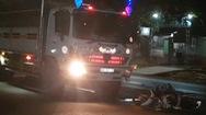 Video: Tình huống giao thông thấy rợn người, xe máy đi ngược chiều tông trực diện xe tải