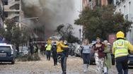 Video: Nổ lớn xảy ra tại trung tâm thủ đô Madrid, Tây Ban Nha
