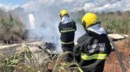 Video: Rơi máy bay, 4 cầu thủ và chủ tịch đội Palmas thiệt mạng