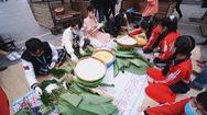 Góc nhìn trưa nay   Hoa hậu Đỗ Thị Hà, Lương Thùy Linh gói bánh chưng tặng trẻ em vùng lũ