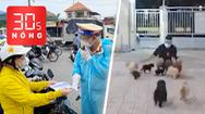 Bản tin 30s Nóng: Chiều 14-10, chốt cửa ngõ vẫn kiểm tra giấy xét nghiệm; Phường nuôi đàn chó của gia đình F0