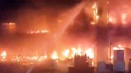 Video: Chung cư 13 tầng tại Đài Loan bốc cháy dữ dội, 46 người thiệt mạng