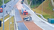 Video: 'Đầm lầy sỏi', thiết kế độc đáo giúp xe mất phanh có bãi đáp an toàn