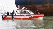 Video: Tìm kiếm thuyền viên mất tích trong vụ chìm sà lan chở 5 người ở Cần Giờ