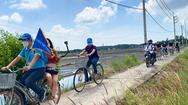Video: Du khách câu cá sấu, đạp xe khám phá Cần Giờ sau giãn cách