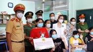 Góc nhìn trưa nay | Lực lượng công an đội mưa trao quà cho trẻ mồ côi vì COVID-19