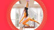 Video: Thoả đam mê yoga dây và âm nhạc cùng Aerial Sling