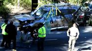 Video: Huyền thoại golf Tiger Woods bị tai nạn xe hơi nghiêm trọng