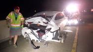 Video: Bánh xe văng trên đường phố, 1 người chết tại chỗ, nhiều người bị thương nặng