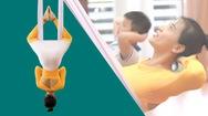 Video: Giúp trẻ điều chỉnh phom dáng, tránh gù lưng với bài yoga dây đơn giản