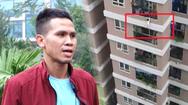 Video: Người cứu bé gái rơi từ tầng 12 kể lại giây phút 'sinh tử' của cháu
