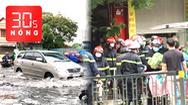 Bản tin 30s Nóng: Cháy tiệm đồ ở Hà Nội, hiểm họa từ nhà bít bùng; Mưa qua, đường lại ngập