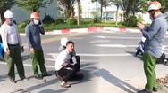 Video: Kỷ luật đại úy công an đứng nhìn tài xế bị thương một mình vật lộn với tên cướp