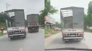 Video: Đề nghị xử lý nghiêm khắc xe tải cản đường xe cứu thương gần 10km