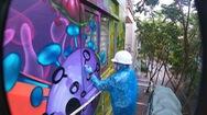 Góc nhìn trưa nay | Nam họa sĩ dành 1 năm vẽ tranh cổ động phòng chống COVID-19