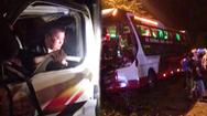 Video: Vợ của tài xế xe tải tử vong ngay trước mặt chồng sau tai nạn với xe giường nằm