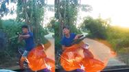 Video: Công an vào cuộc vụ ôm súng tự chế nhắm bắn người trên ôtô