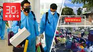 Bản tin 30s Nóng: 2 khách bay cùng tuyển Việt Nam từ UAE về nước mắc COVID-19; 'Chợ cấm' vẫn đông