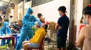 Video: Lấy mẫu xét nghiệm trong đêm tại phường Bình Chuẩn sau 23 ca dương tính