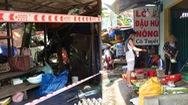 Video: Chợ Nhân Văn giăng dây cấm bán, phường Đông Hòa hàng quán vẫn đông