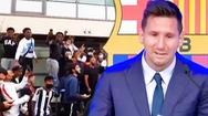 Video: Hàng ngàn người tụ tập ở sân bay Paris gây cảnh náo loạn vì đợi Messi