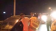 Video: Cảnh sát giao thông 'đón lỏng' trên cao tốc, khống chế người đàn ông trốn khỏi khu cách ly