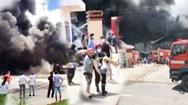 Video: Cháy lớn tại công ty sản xuất mút trong Khu công nghiệp Nam Tân Uyên mở rộng