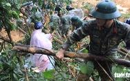 Quân khu V tham gia tìm 4 công nhân thủy điện bị vùi lấp