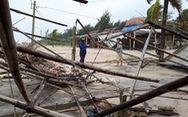Gió quật làng biển Quảng Nam xơ xác
