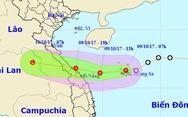Áp thấp nhiệt đới di chuyển nhanh, miền Trung mưa lớn