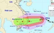 Bão mạnh lên, từ Quảng Trị đến Bình Thuận mưa lớn