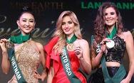 Hà Thu lại giành huy chương đồng tại Hoa hậu Trái đất 2017