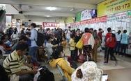 Dân hối hả rời TP.HCM về quê đón tết Dương lịch 2018