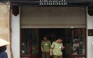 Quản lý thị trường nói nhân viên Khaisilk thay hàng Trung Quốc