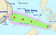 Áp thấp nhiệt đới gần Biển Đông mạnh lên, có thể thành bão