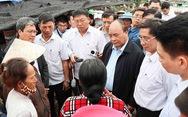 Thủ tướng kiểm tra việc khắc phục hậu quả bão số 12