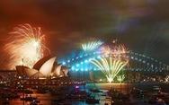 Các nước mở đại tiệc pháo hoa đầy màu sắc chào năm mới 2018