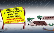 Khi người dân không coi thường bão dữ!