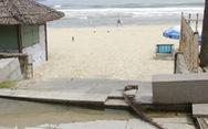 Bờ biển Đà Nẵng lại bị sạt lở