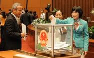 Hôm nay 24-10, Quốc hội bắt đầu lấy phiếu tín nhiệm