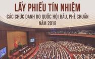 48 chức danh được Quốc hội lấy phiếu tín nhiệm