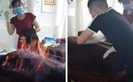 Thót tim chữa bệnh bằng lửa