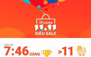 Shopee đã bán ra hơn 11 triệu đơn hàng trong 24g